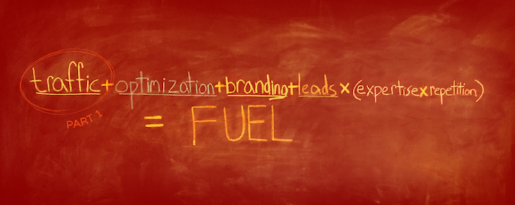 How to drive traffic to your website- Charcoal's inbound marketing formula, part 1